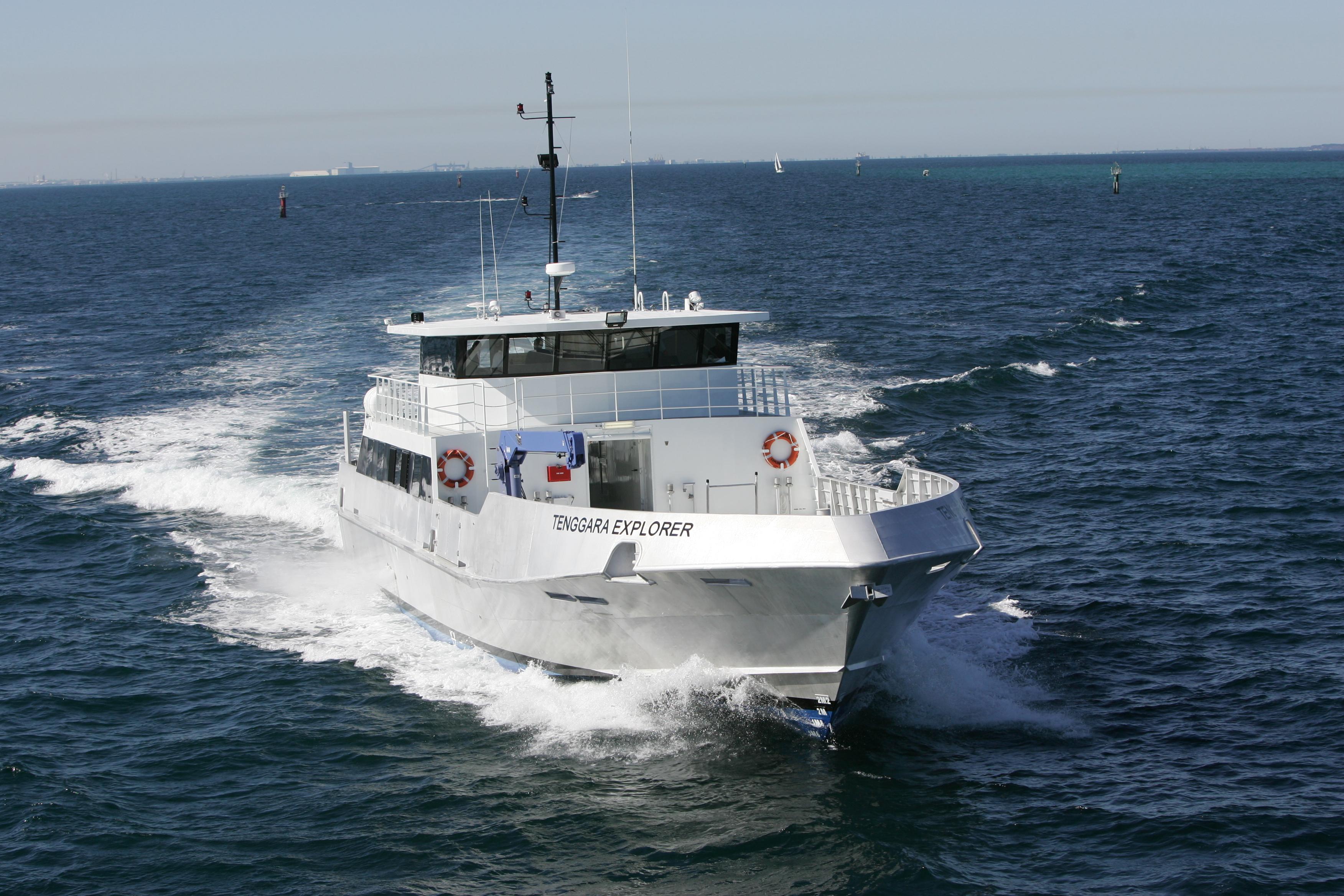 tenggara explorer utility boat