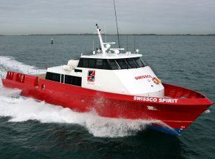 swissco spirit crew transfer vessel