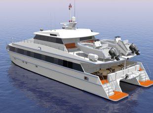 24m Catamaran Live Aboard Design