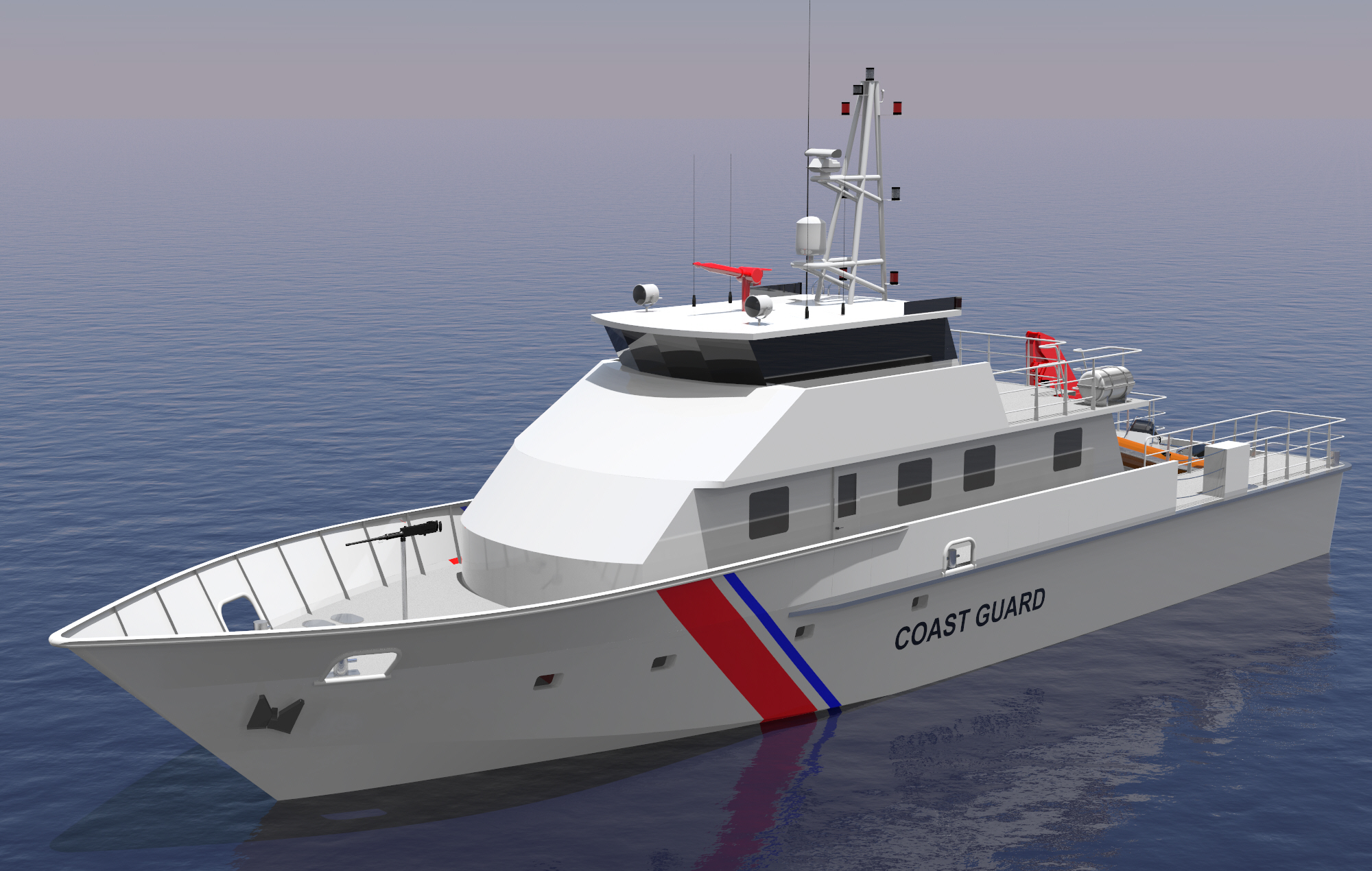 28 M COST GUARD PATROL VESSEL BOW