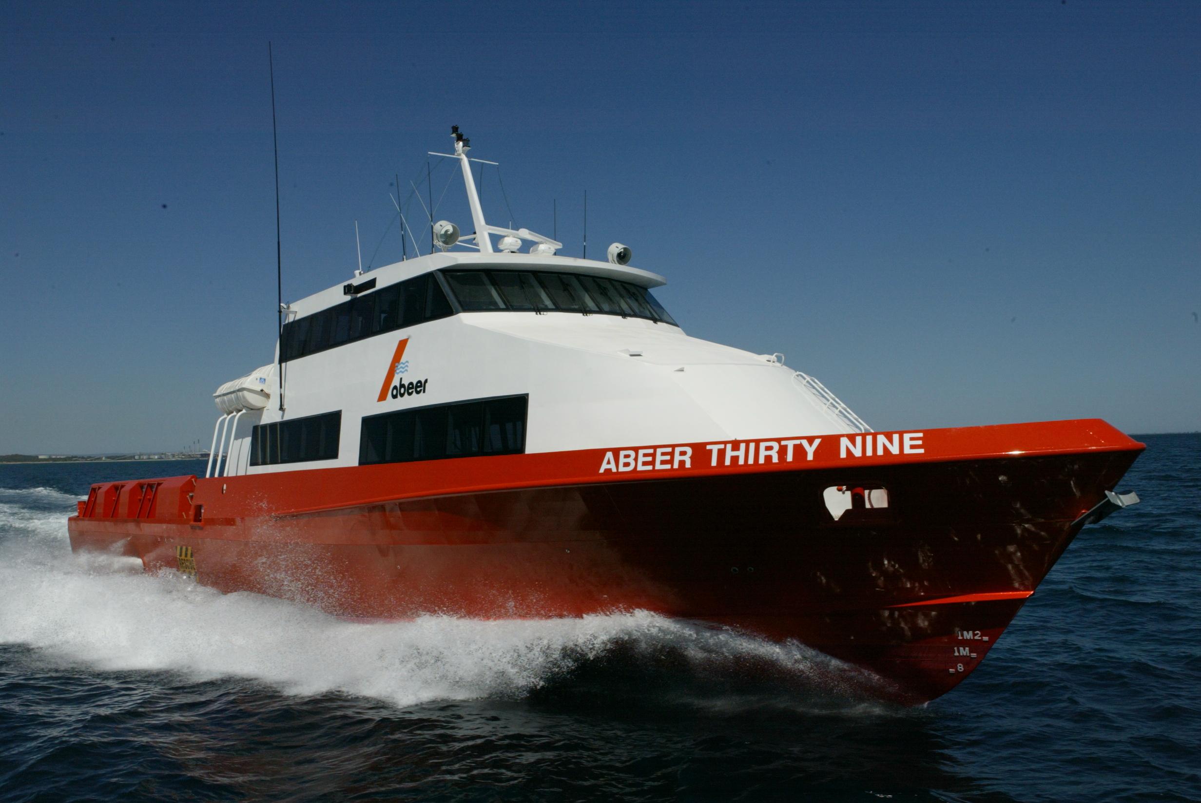 Abeer 39 Crew Vessel