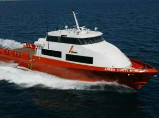 Abeer 39 Crew Vessel Design