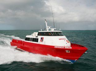 swissco swan crew transfer vessel