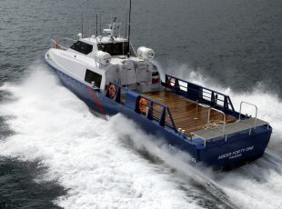 Abeer 41 vessel design rear